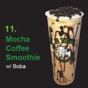 11 Mocha Coffee Smoothie