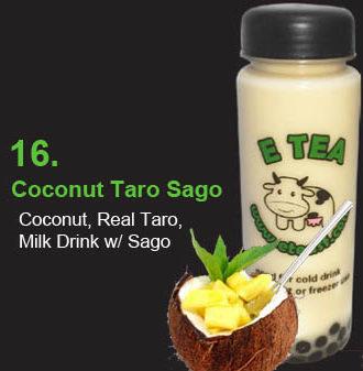 16 Coconut Taro Sago