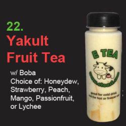 22 Yakult Fruit